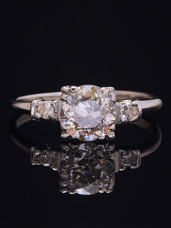 old_european_cut_diamond_ring - Where To Sell Wedding Ring